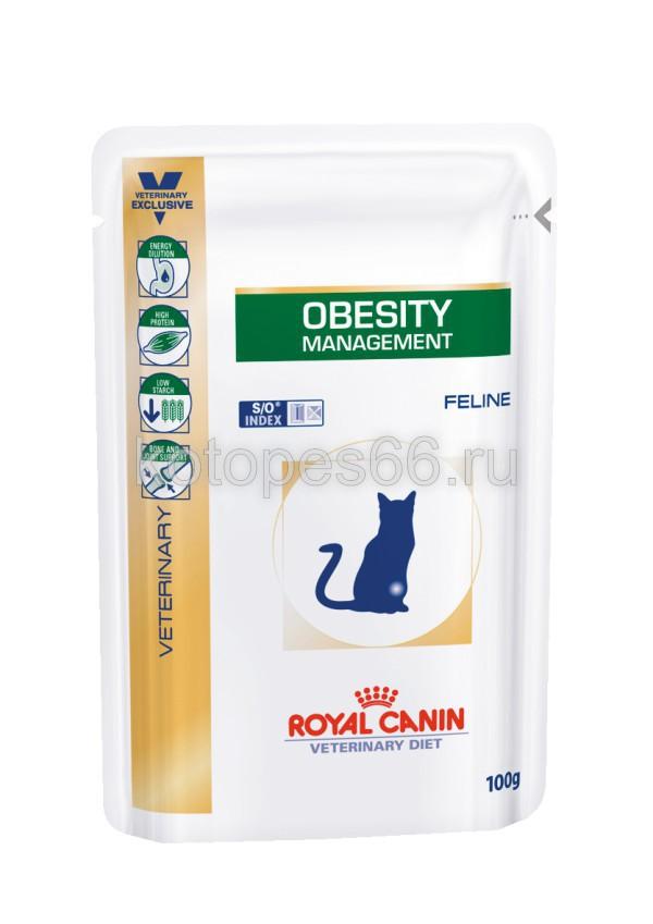 Корм royal canin obesity management сухой