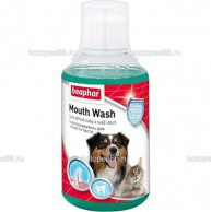 Beaphar Mouth Wash, ополаскиватель полости пасти для кошек и собак, 320гр - kotopes66.ru