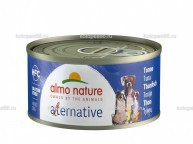 "Almo Nature Alternative консервы для собак ""Тунец"", 55% мяса, HFC ALMO NATURE ALTERNATIVE DOGS TUNA - купить в Екатеринбурге"