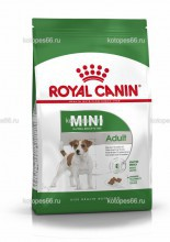 Royal Canin Mini Adult, сухой корм для собак мелких пород с 10 месяцев до 8 лет - kotopes66.ru